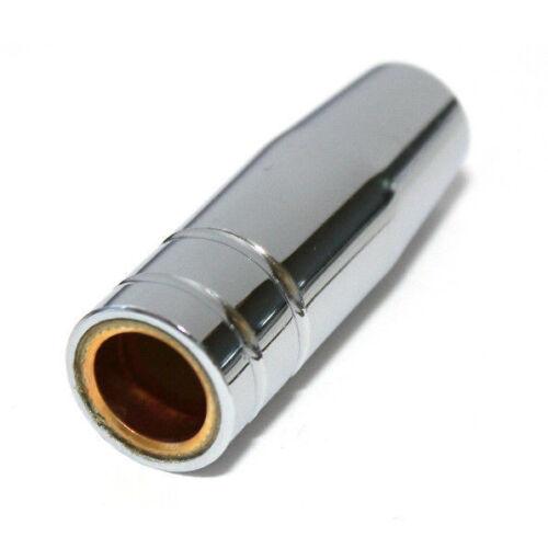10x gasdüsen mb15 mb14 NW 12mm Graveur conique enfichables MAG MIG buse débosselage