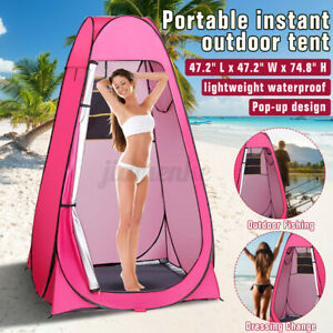 1-2 Person Portable PopUp Toilet Shower Tent Changing Room Camping Shelter U