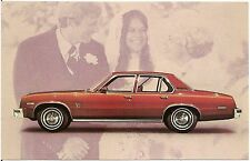 1976 Pontiac Ventura SJ 4-Door Sedan Automobile Advertising Postcard