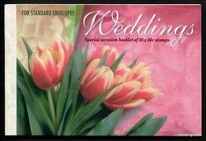 2003-Weddings-Prestige-Booklet-Australia-Mint-MUH-Stamps