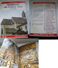 Taschenheft zur Spitalkirche mit Lederer Atsch in Latsch Mathias Frei gebraucht