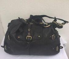 826f0b39a1 Cynthia Rowley 675124 Dylan Stingray Satchel Handbag Leather Black ...