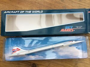 SKY-MARKS-SKR106-Aircraft-Of-The-World-CONCORDE-model-British-Airways-1-250th