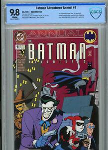 Batman Adventures Annual #1 CBCS 9.8 1st Roxy Rocket w/ Harley Quinn & Scarecrow