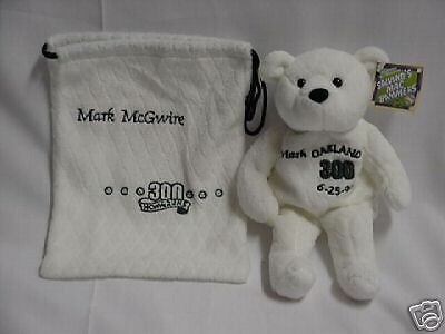 Mark McGwire 300th home run Bear New with pouch!
