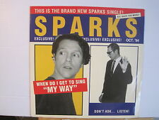 Sparks -The Rapino Brothers c/w Pro-Gress +1 - Free UK Post