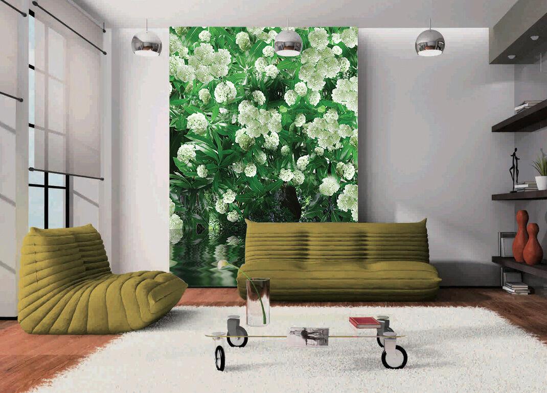 3D Weiß Flowers Bouquet 12 Wall Paper Wall Print Decal Wall AJ WALLPAPER CA