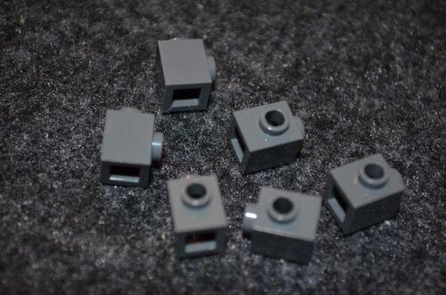 Dark Gray 1x1 Bricks with Center Stud ~ Lego NEW 6