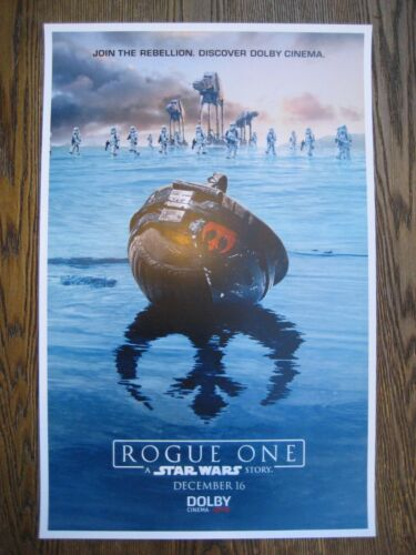 """T13 Movie Collector/'s Poster Print - B2G1F 11/"""" x 17/"""" Star Wars Rogue One"""