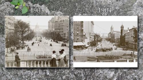 1903 Washington DC Pennsylvania Av photos lot CHOICES 2 5x7s or request 1 8x10 o