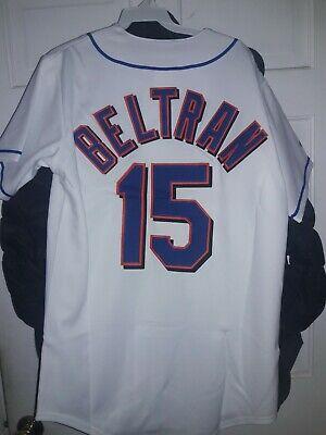 Carlos Beltran New York Mets Shirt Mlb Ny Met Beltran Baseball Jersey Small S Ebay