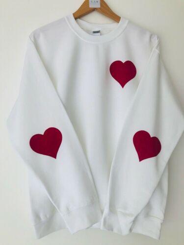 Lounge Wear heart cosy winter Christmas jumper sweater gift casual Zara  LV GG