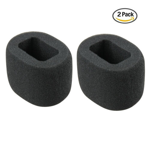 2 Pcs Foam Windscreen for Zoom H1 Handy Portable Digital Recorder by Hermitshell