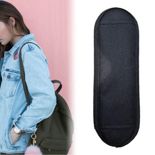 Black Universal Shoulder Padded Strap Replacement Adjustable For Computer Bag w