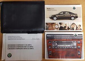 genuine skoda superb handbook owners manual 2006 2008 book a 324 ebay rh ebay co uk skoda superb 2006 service manual skoda superb 2006 owners manual