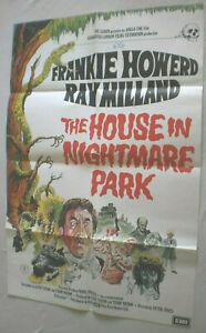 Filmplakat,Plakat,THE HOUSE IN NIGHTMARE PARK,FRANKIE HOWERD,RAY MILLAND#122