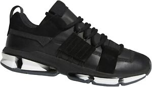 Adidas Twinstrike ADV Stretch Leather Sneaker Gr. 39 1/3 Leder Schwarz NEU