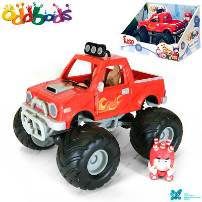 "RP2 ODDBODS AV4501F /""FUSE /& CAR/"" Chuddiki Cartoon Character Action Vehicle Set"