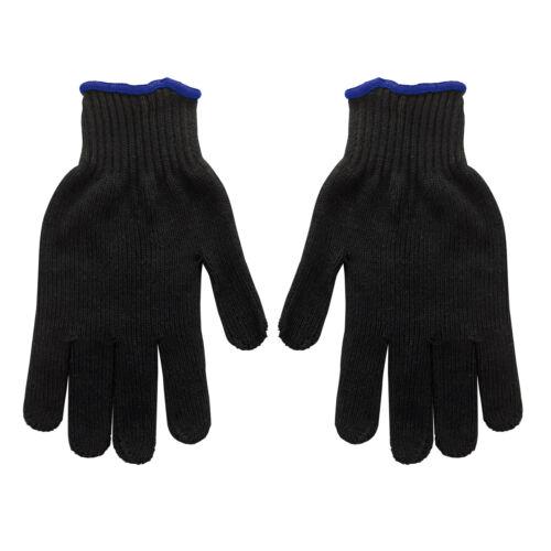 Noppen Handschuhe Strickhandschuhe  Noppenhandschuhe Arbeitshandschuhe Gr 9 schw