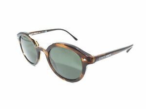 22c5be75ba Image is loading Authentic-GIORGIO-ARMANI-Striped-Brown-Sunglasses -AR8007-559431-