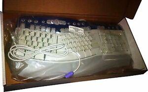 bb0223aa120 Microsoft Natural MultiMedia Keyboard 1.0A PS2/USB Ergonomic RT9470 ...