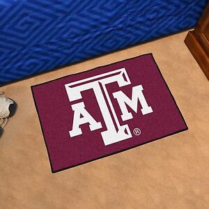 Texas A Amp M Aggies 19 Quot X 30 Quot Starter Area Rug Mat