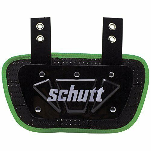 Sizes Schutt Sports Neon Football Back Plate Assorted Colors