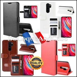 Etui-housse-coque-Crazy-Horse-Cuir-PU-Leather-Flip-Case-Xiaomi-Redmi-Note-8-Pro