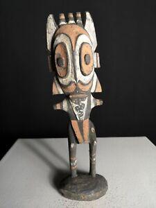 Old Ancestor Hunting Charm  Figures, Blackwater, Papua New Guinea,Tribal Art