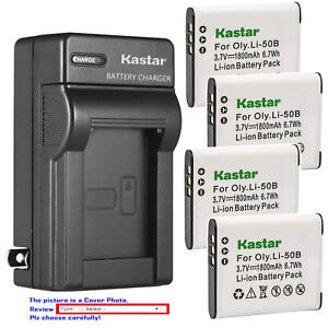 Kastar-Battery-Wall-Charger-for-Olympus-Li-50B-LI-50C-amp-SZ-30MR-SZ-31MR-iHS