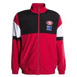 Jacket-New-Era-Jacket-NFL-for-San-Francisco-49ERS-SAF49E-Red-Black-Jacket