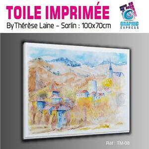 TOILE-IMPRIMEE-100x70-cm-IMPRESSION-SUR-TOILE-TM-08-PAYSAGE-MONTAGNE-NATURE
