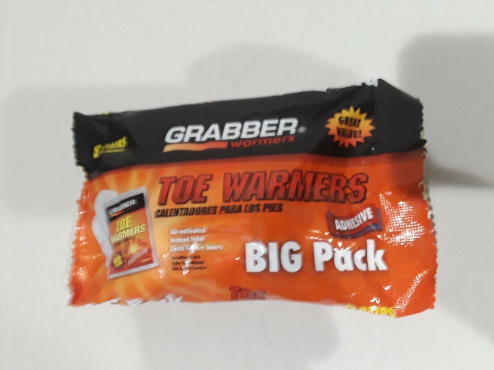 NEW GRABBER TWES8 FRESH BIG PACK 8 PAIRS FRESH TOE WARMERS GREAT SALE PRICE