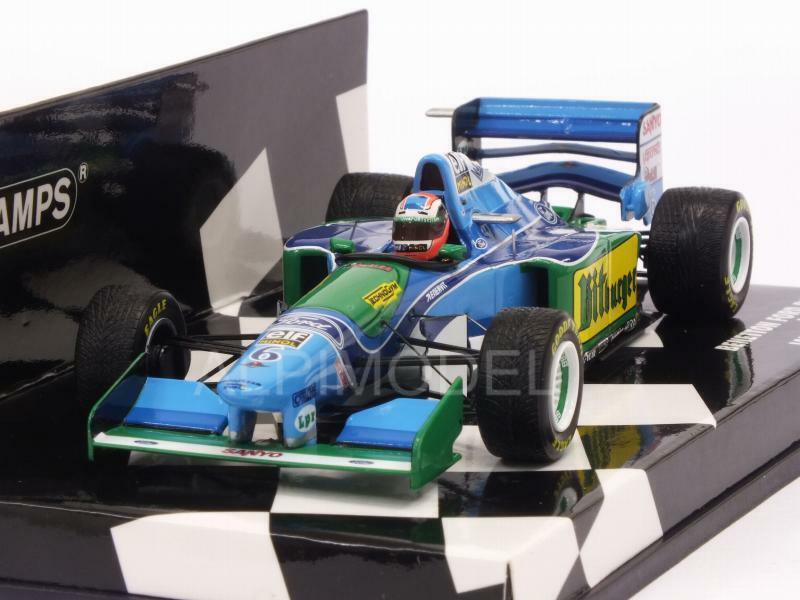 Entrega gratuita y rápida disponible. Benetton B194 Ford Ford Ford GP Japan 1994 Johnny Herbert 1 43 MINICHAMPS 417941506  artículos de promoción