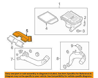 Engine Air Intake Hose Genuine For BMW 13717556546