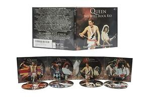 Queen-We-Will-Rock-Rio-The-Legendary-Broadcasts-4CD-box-set-New-and-Sealed