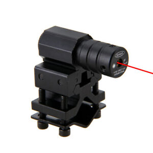 Láser rojo vista punto alcance 20mm Picatinny/Weaver Barril de montaje carril caza