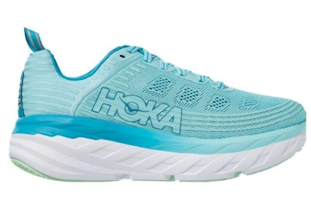 HOKA ONE ONE BONDI 6 Women's Shoes Antigua Sand Caribbean Sea Teal 9270ASCS NEW