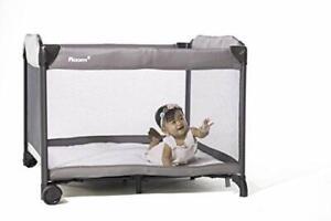 Safe Baby Crib 100/% Cotton Sheet GREY 3DAYSHIP Joovy New Room2 Portable Playard