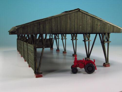 Duha 21161-Grande capote pour emplacement-à la main en bois véritable