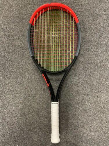 Wilson Clash 98 STRUNG 4 3//8 Tennis Racket 10.9 oz 310g 16x19 pro tour flex