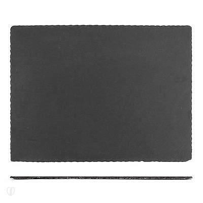 4x Schieferplatten 40 x 30 cm / Teller, Servierplatte, Schiefer Platte, Tischset