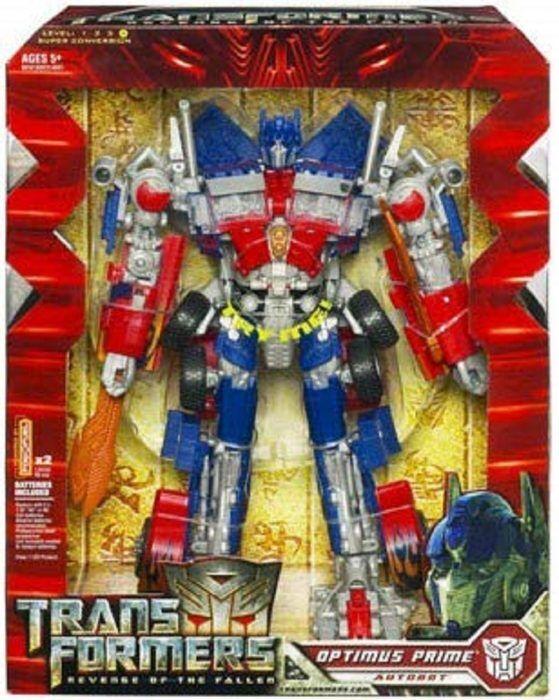 Transformers Revenge of The Fallen Leader Optimus Prime Rare Collectible Hasb...