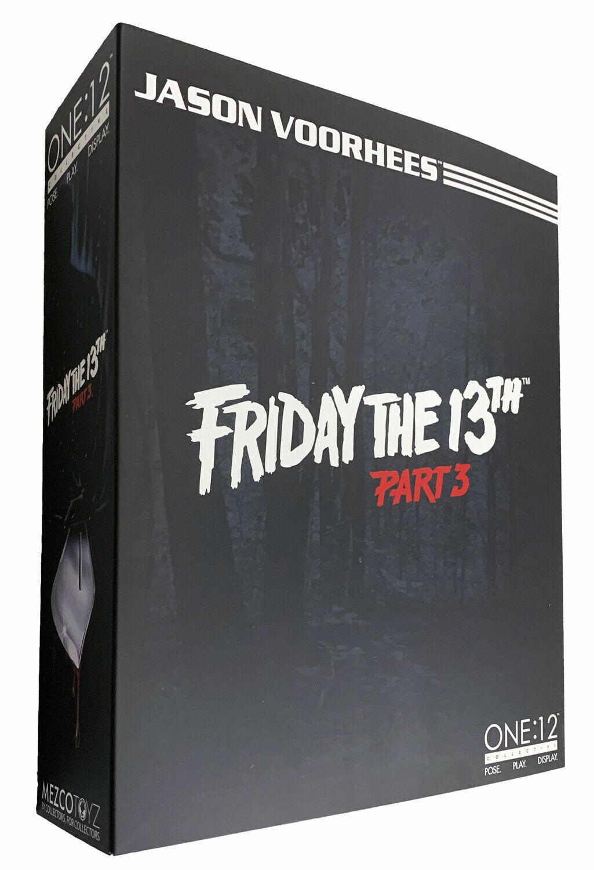 ONE 12 Collective Friday The 13th Part 3 Jason  Voorhees azione cifra 1 12 Mezco  spedizione gratuita!