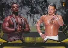 #19 BIG E vs BO DALLAS 2016 Topps WWE Then Now Forever NXT RIVALRIES