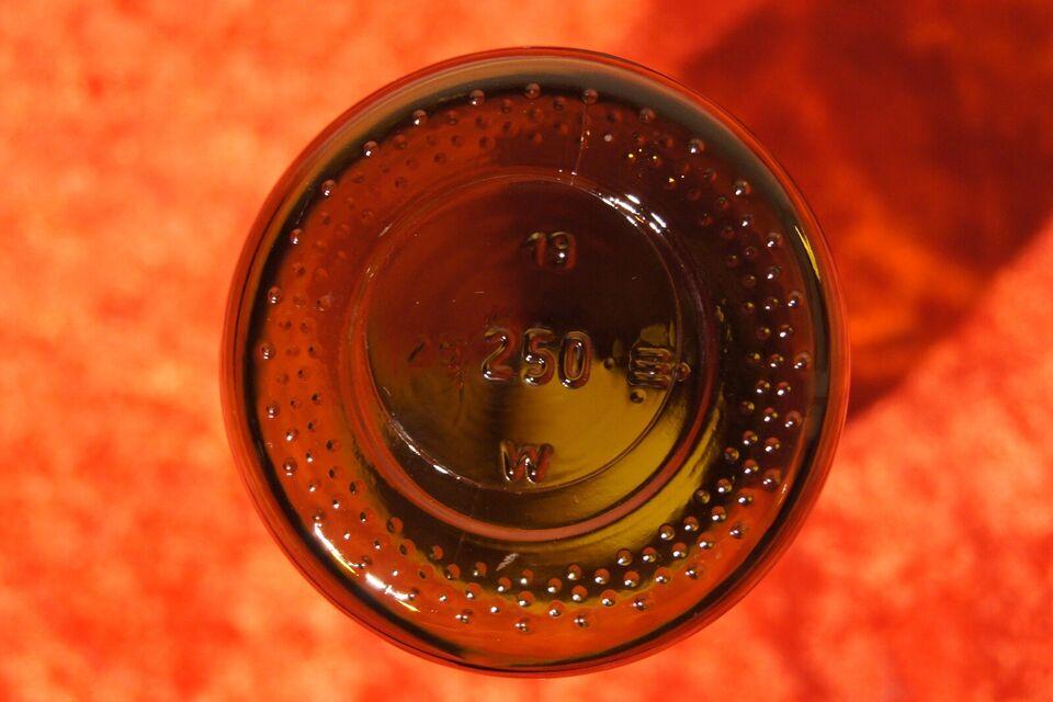 Glas, Medicin flaske