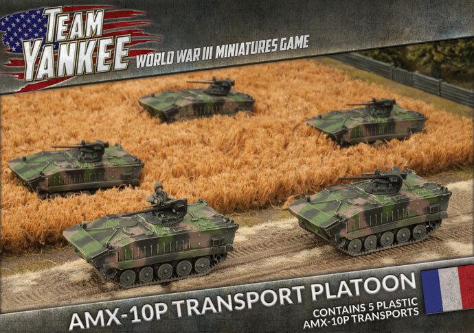 Team Yankee BNIB AMX-10P Transport Platoon TFBX02