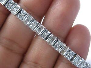 Fine-Multi-Shape-Diamond-Tennis-Bracelet-White-Gold-14KT-5-50Ct