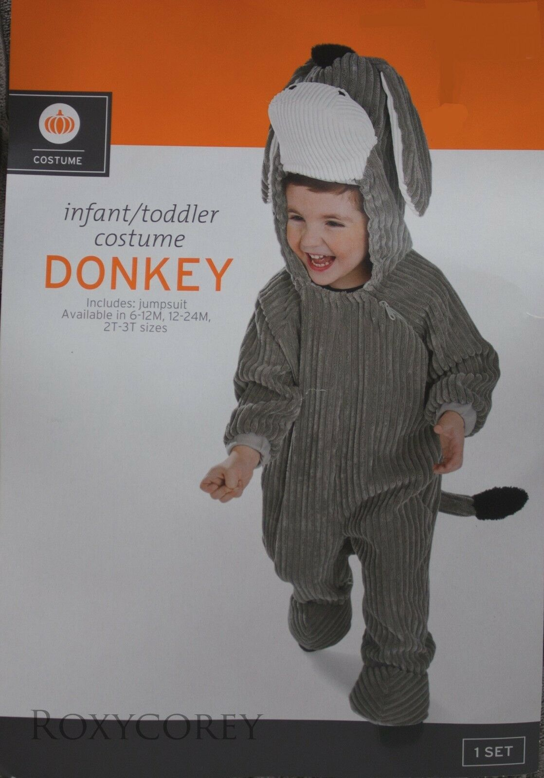 Infant Baby Halloween Cosplay Costume Bat Long Sleeve Jumpsuit Hat 3-24 Months