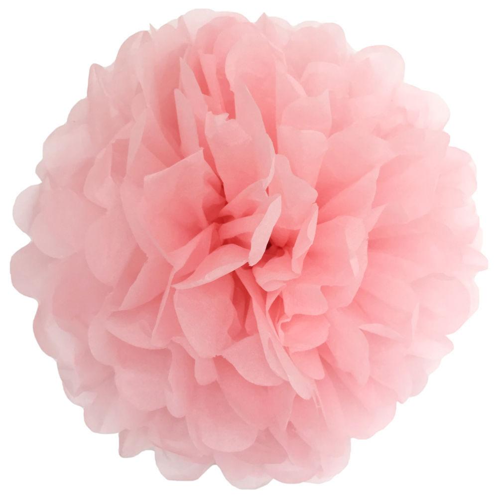 100pcs Tissue Paper Pom Poms Flower Ball Wedding Party Birthday
